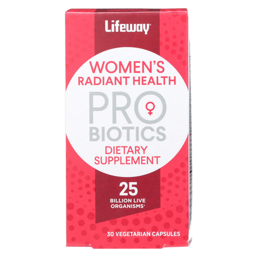 Lifeway Kefir Probiotics - Dietary Supplement - Women's Radiant Health - 30 Count