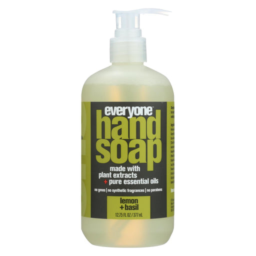 Everyone Soap - Hand - Lemon - Basil - 12.75 Fl Oz
