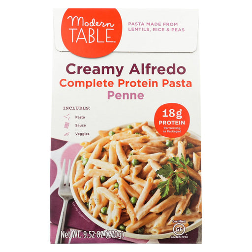 Modern Table Lentil - Pasta - Meal Kit - Creamy Alfredo - Case Of 6 - 9.52 Oz