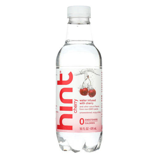 Hint Water - Cherry - Case Of 12 - 16 Fl Oz