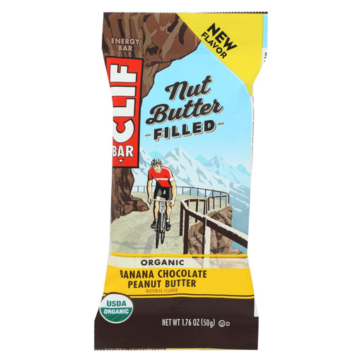 Clif Bar - Nut Butter Filled - Banana Chocolate Peanut Butter - Case Of 12 - 1.76 Oz
