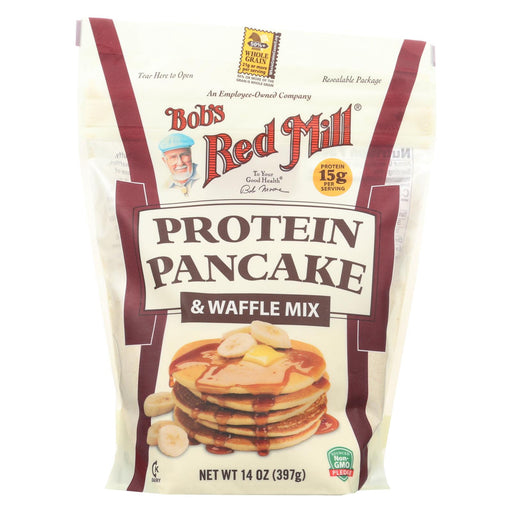 Bob's Red Mill Mix - Pancake - Protein - Case Of 4 - 14 Oz