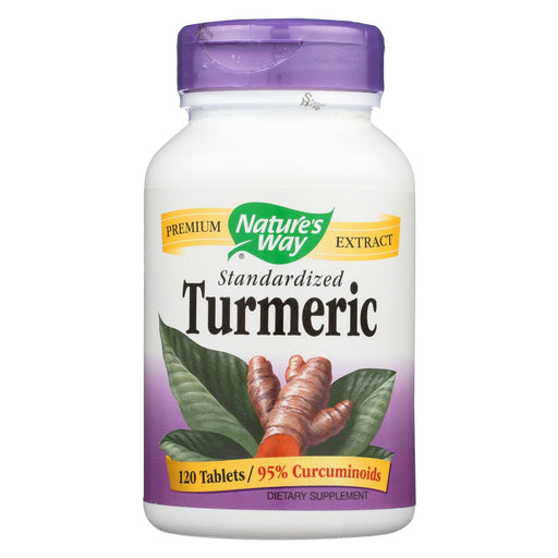 Nature's Way Turmeric Standardized - 120 Tab