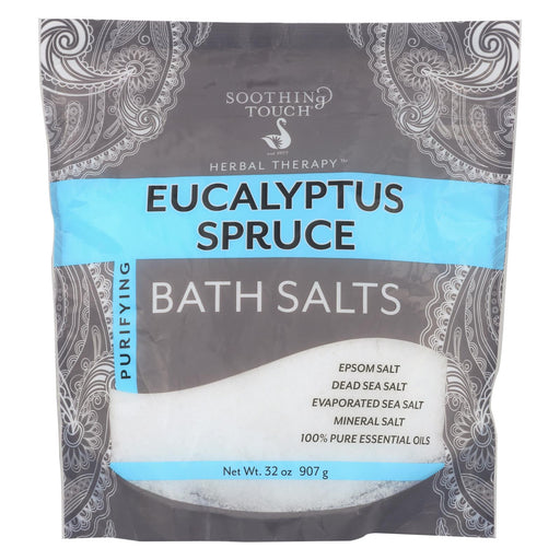 Soothing Touch Bath Salts - Eucalyptus Spruce - 32 Oz