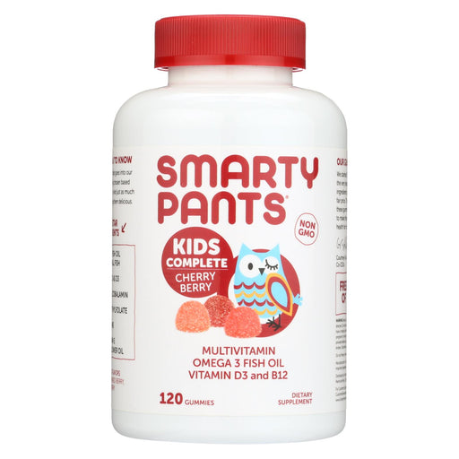 Smartypants Gummy Vitamin - Kids Complete - Cherry - 120 Count