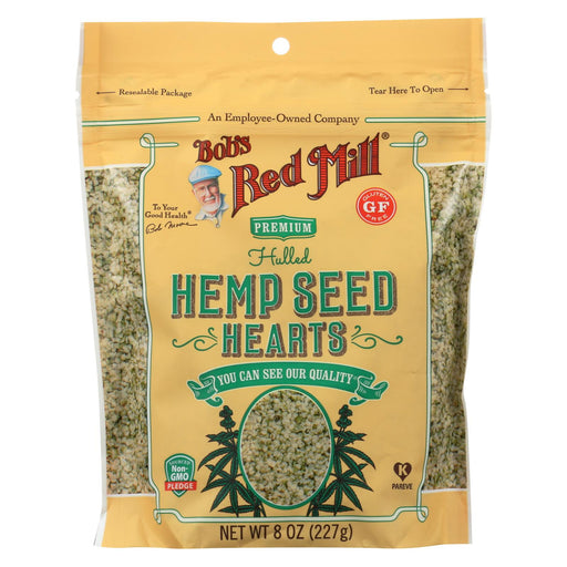 Bob's Red Mill Hemp Seeds - Hulled - Case Of 6 - 8 Oz
