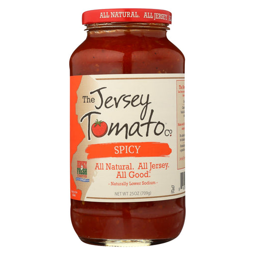 Jersey Tomato Co. Sauce - Spicy - Case Of 6 - 25 Oz