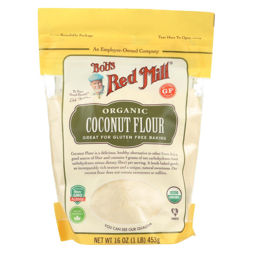 Bob's Red Mill Flour - Organic - Coconut - Case Of 4 - 16 Oz