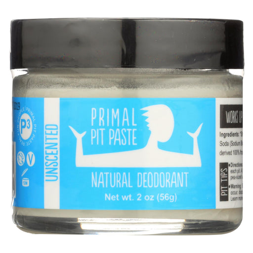 Go Primal Deodorant Stick - Unscented - Paste - 2 Oz