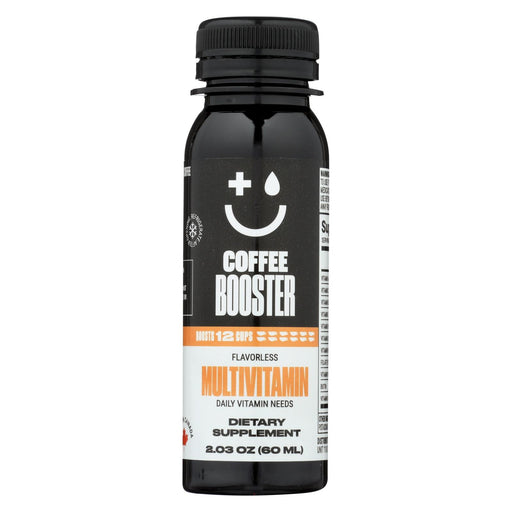Coffee Booster Booster - Multivitamin - Case Of 12 - 2.03 Oz