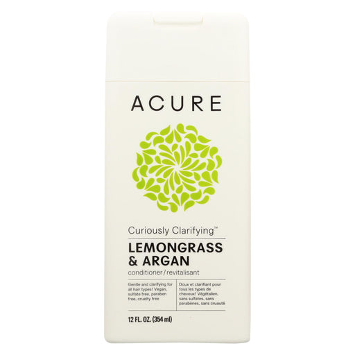 Acure Conditioner - Curiously Clarifying - 12 Fl Oz