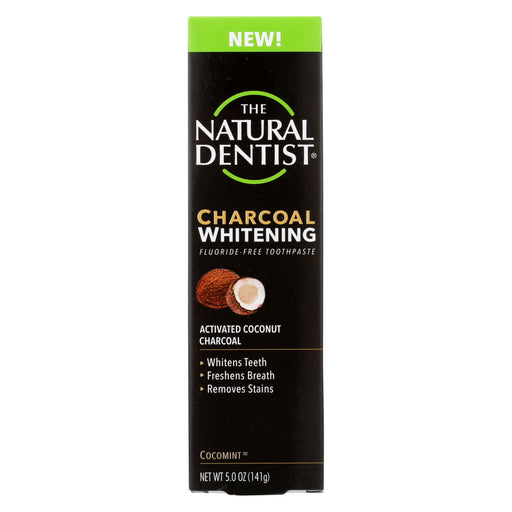 Natural Dentist Toothpaste - Charcoal - White - 5 Oz