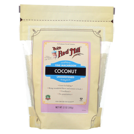 Bob's Red Mill - Coconut Fine Macaroon - Case Of 4-12 Oz