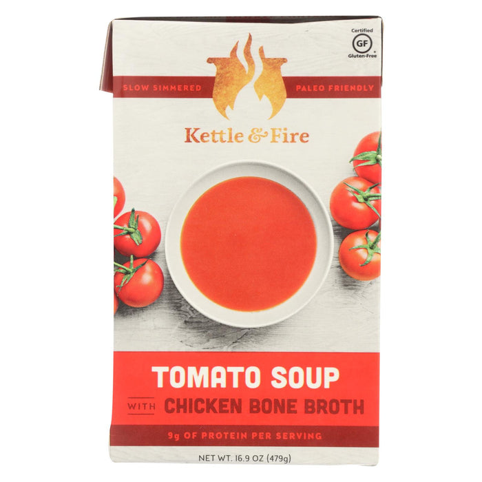 Kettle And Fire Soup - Tomato Soup - Case Of 6 - 16.9 Oz.