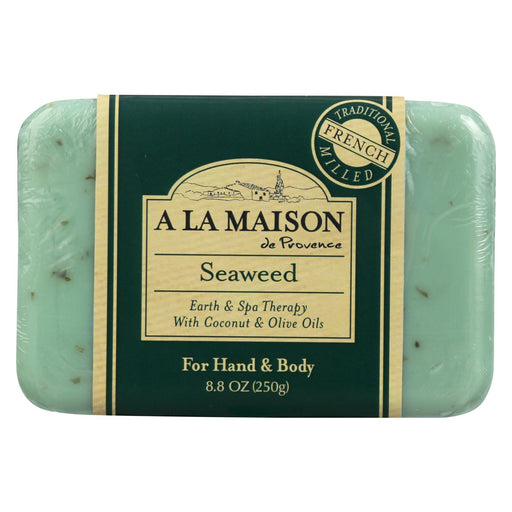 A La Maison Bar Soap - Seaweed - 8.8 Oz