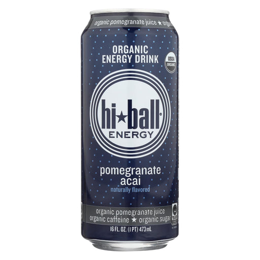 Hi Ball Energy Energy Drink - Pomegranate Acai - Case Of 1 - 8-16 Fl Oz.