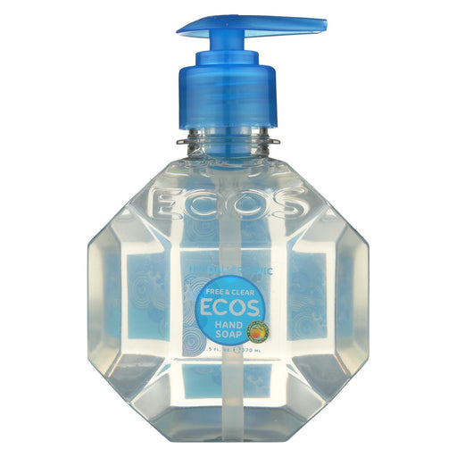 Ecos Hand Soap - Free And Clear - Case Of 6 - 12.50 Fl Oz.