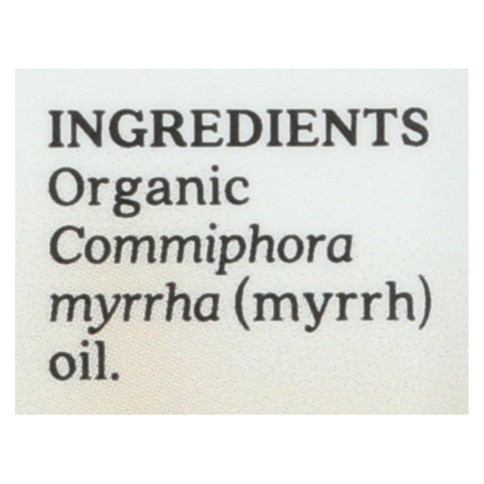Aura Cacia Essential Oil - Myrrh - Case Of 1 - .25 Fl Oz.