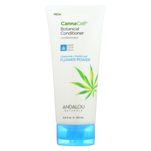 Andalou Naturals Conditioner - Chamomile And Myrtle Leaf - Case Of 1 - 8.5 Fl Oz.