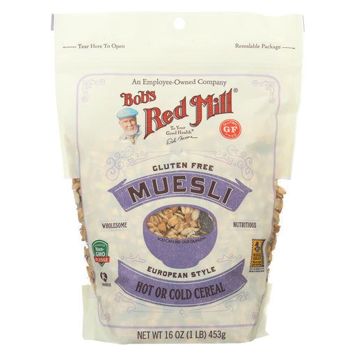 Bob's Red Mill - Muesli Gluten Free - European Style - Case Of 4-16 Oz