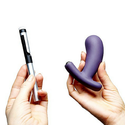 Nuo Vibrating Butt Plug / Prostate Massager with Pen-shaped Remote Control + App by Je Joue