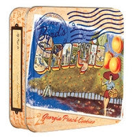Georgia Peach Cookies Tin by Byrd Company