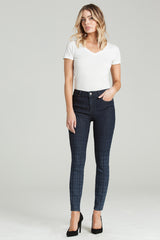 "Parker Smith ""Ava Skinny"" in Dipped Plaid"
