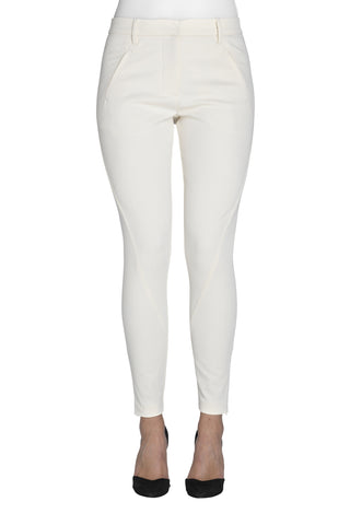 Five Units Angelie 238 Zip Pants - White **OUT OF STOCK**