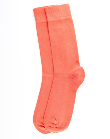 Escuyer Casual Colour Socks - Coral