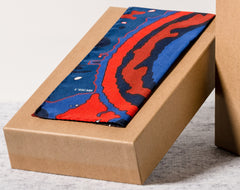L'Ascari Silk Pocket Square. No 5