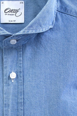 "Oscar of Sweden ""Denim"" Shirt (Slim Fit) **OUT OF STOCK**"