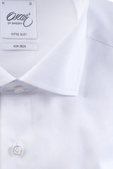 "Oscar of Sweden ""Plain White with Cufflinks"" Shirt (Classic Fit)"