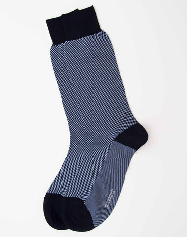Pantherella Chequered Cotton Socks