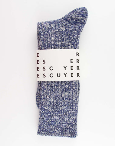 Escuyer Japanese Inspired Melange Socks