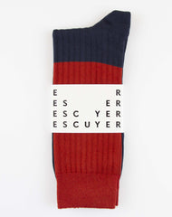 Escuyer Color Block Socks - Bossa Nova/TTL Eclipse