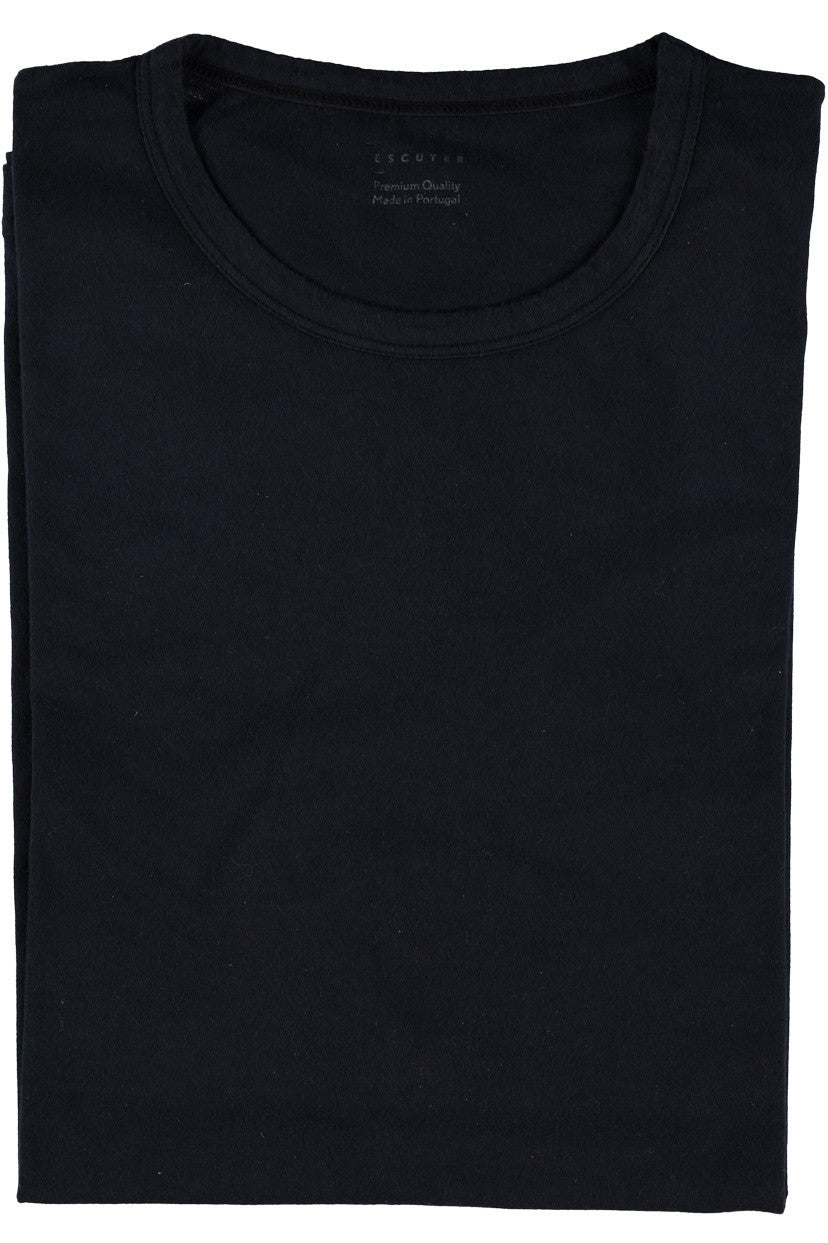 Escuyer Crew Neck T-shirt - Indigo