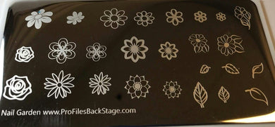 Profiles - Nail Garden Stamping Plate