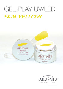 UV/LED GEL PLAY - SUN YELLOW 4gm