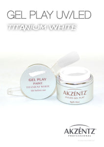 UV/LED GEL PLAY - TITANIUM WHITE 4gm