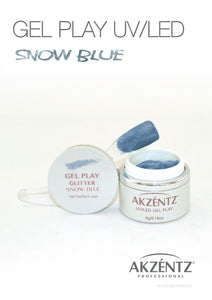 UV/LED GEL PLAY - SNOW BLUE 4gm