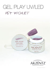 UV/LED GEL PLAY - ICY VIOLET 4gm