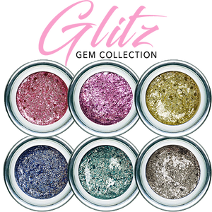 UV/LED GEL PLAY - Glitz Pewter Quartz