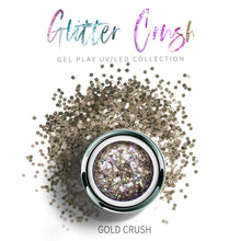 Load image into Gallery viewer, UV/LED GEL PLAY - GLITTER GOLD CRUSH 4gm