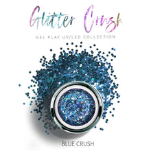 Load image into Gallery viewer, UV/LED GEL PLAY - GLITTER BLUE CRUSH 4gm