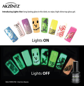 LIGHTS OUT GLOW IN THE DARK TOP GLOSS 15ml