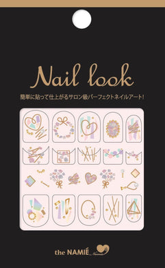 The Namie - Nail Look Sticker Pack 004
