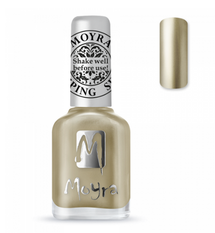 Moyra Stamping Nail Polish - Chrome Gold 24