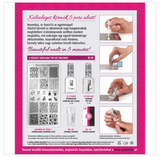 Moyra Nail Stamping Kit No.1 - Learning to stamp