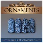Moyra Stamping Plate - Ornaments