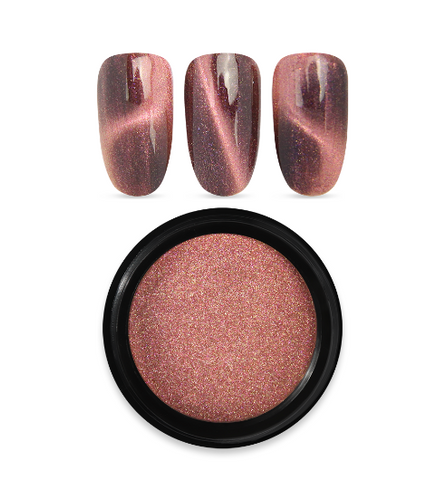 Moyra Magnetic Pigment Powder - Rose Gold 04